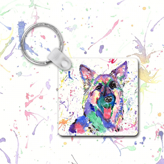 Keyring (German Shep)